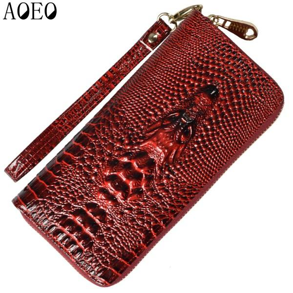 Ladies Crocodile Wallet
