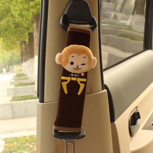 Child's Cartoon Character Seat Belt Shoulder Pad
