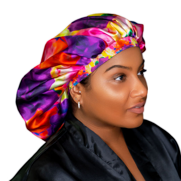Jumbo Bonnet (Purple Rose)