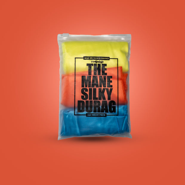 Silky Durags (Neon, Orange, Sky Blue)