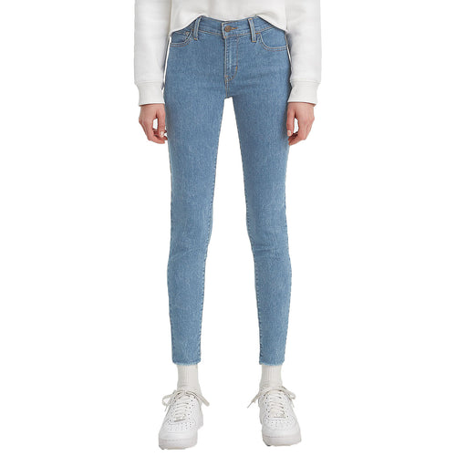 Levi's Blue Denim 710 Super Skinny Jeans