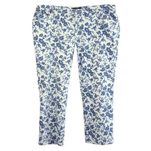 Ralph Lauren Multi Color Floral Denim Modern Straight Jeans