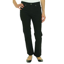 Ralph Lauren Black Denim Classic Straight Tanya Jeans