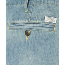 Ralph Lauren Blue Denim Faded Cropped Jeans