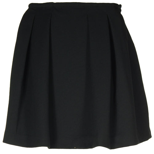 Polo by Ralph Lauren Black Pleated Knit Skirt