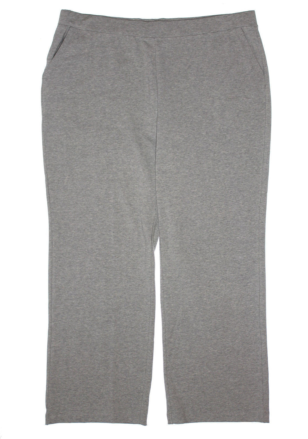 Charter Club Heather Gray Pull On Elastic Waist Casual Pants