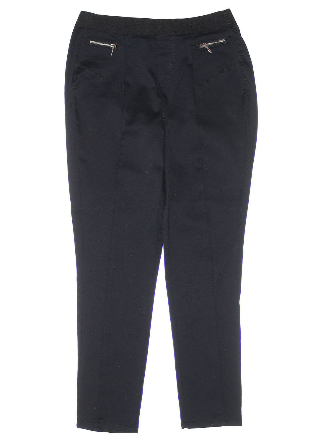 Style & Co Black Curvy Fit Skinny Leg Pull On Pants
