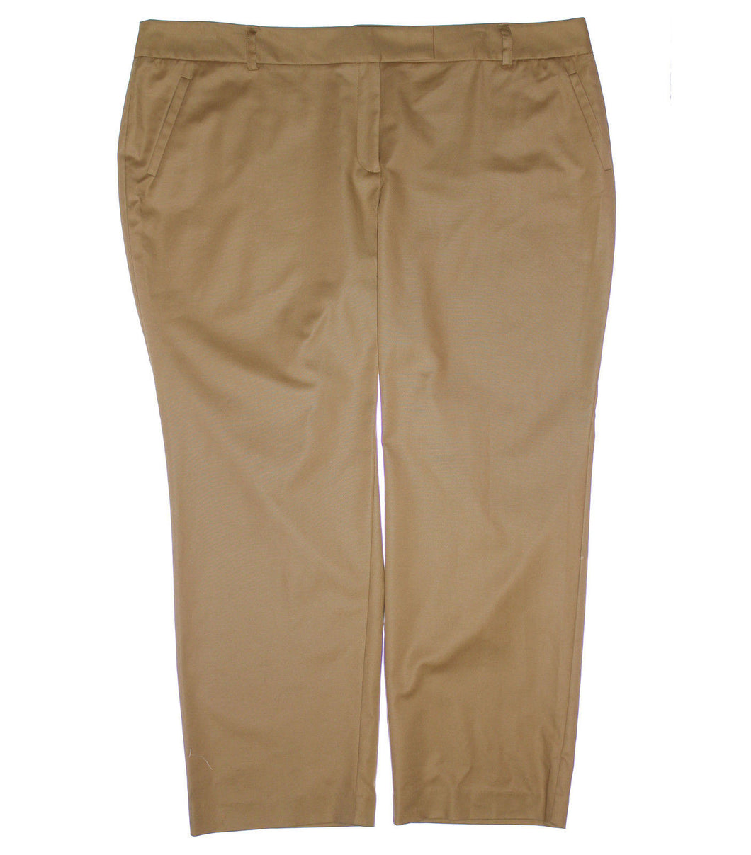 Charter Club Tummy Slimming Straight Leg Slacks Pants