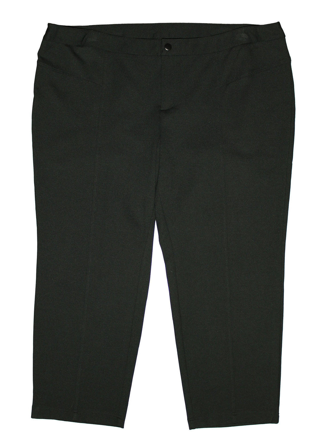 INC Black Tapered Straight Leg Casual Pants