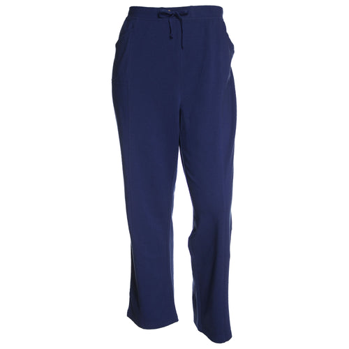 Karen Scott Blue Pull On Drawstring Active Pants