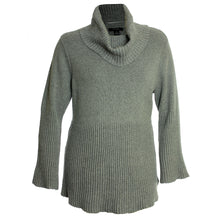 Style & Co Long Bell Sleeve Cowl Neck Ribbed Sweater