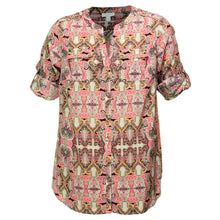 Charter Club Solid or Print Long Convertible Sleeve Button Down Utility Shirt