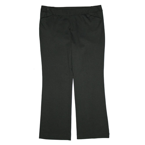 JM Collection Black Wide Leg Pull On Pants