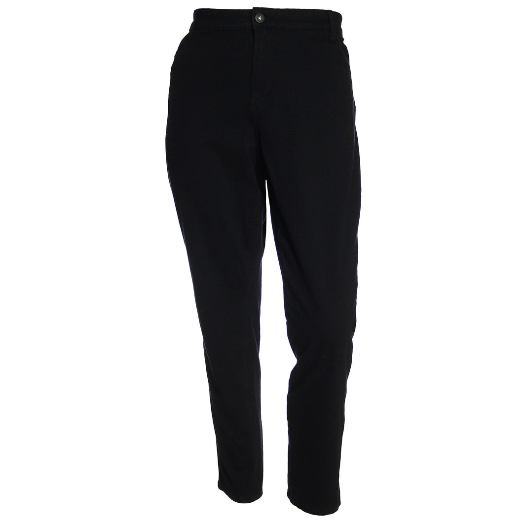 Style & Co Black Mid-Rise Jeggings Jeans Leggings