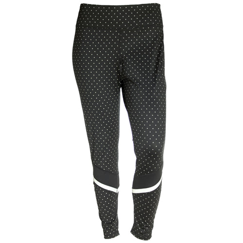 Ideology Reflective Print Full Length Performance Leggings Plus Size