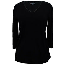 Karen Scott Long Sleeve V-Neck Sweater Plus Size