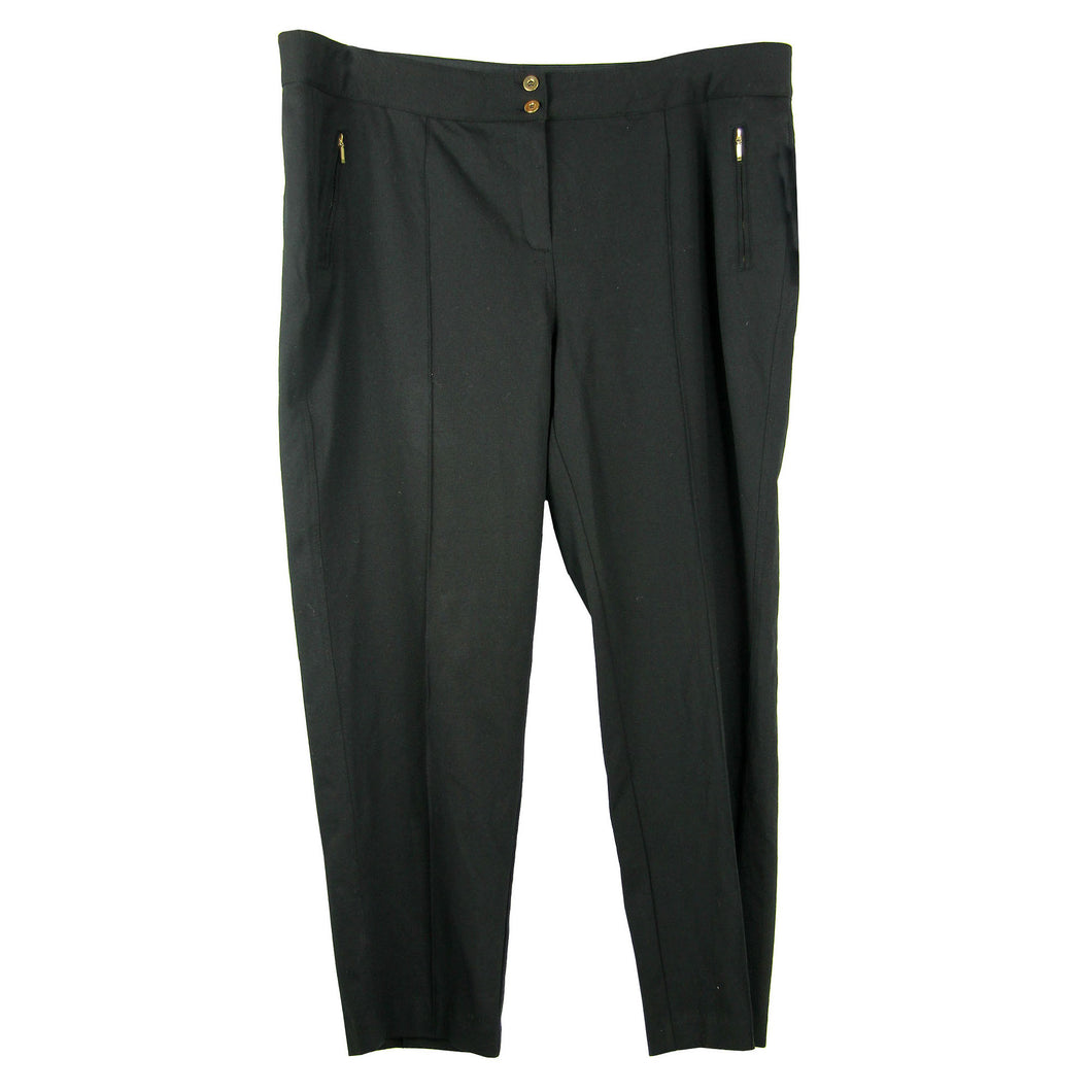 Alfani Black or Blue Comfort Waist Casual Slacks Pants