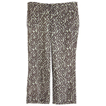 INC Multi Color Ikat Print Rhinestone Embellished Linen Pants