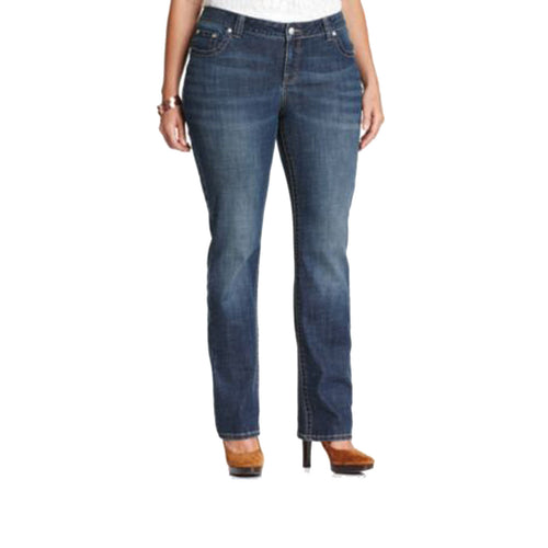 Lee Blue Denim Straight Leg Jeans