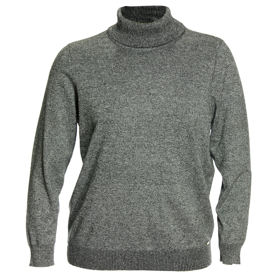 Calvin Klein Gray Long Sleeve Turtleneck Sweater