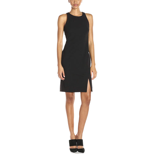 Calvin Klein Black Sleeveless Sheath Dress