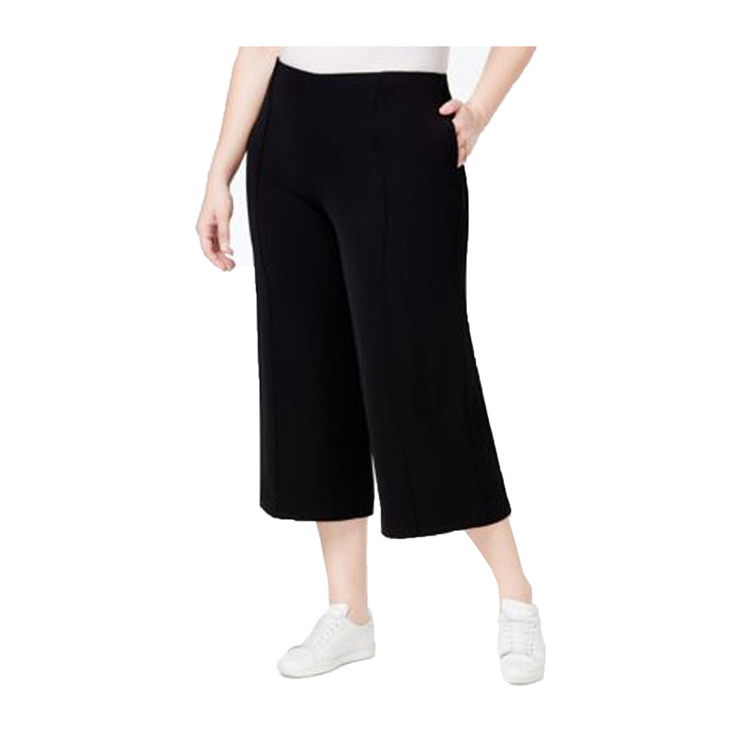 Rachel Roy Black Culotte Pants Plus Size