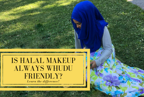halal wudhu friendly makeup difference - wudu