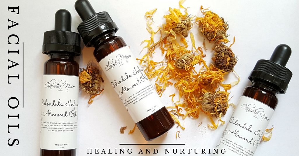 Facial Oil- Almond - Calendula