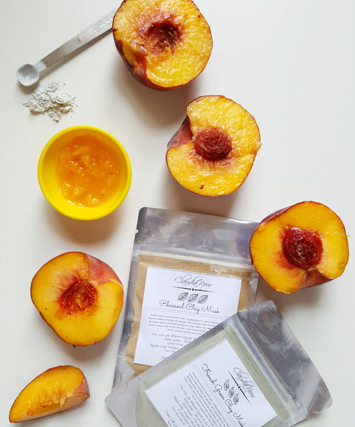 Peaches clay mask halal
