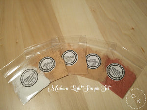 HALAL MAKEUP SAMPLE SETS MEDIUM LIGHT