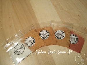 HALAL MAKEUP SAMPLE SETS MEDIUM DARK