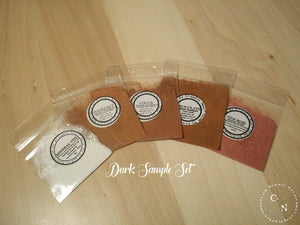 HALAL MAKEUP SAMPLE SETS DARK