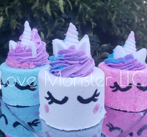 10 oz unicorn bath bomb