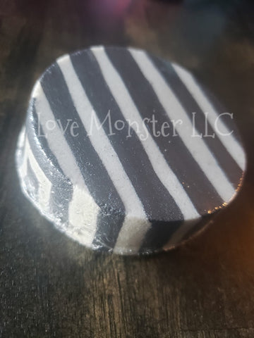 Black & White stripe Bath Bomb