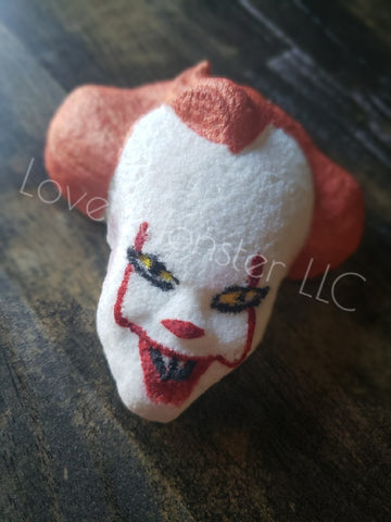 """We all float down here"" bath bomb"