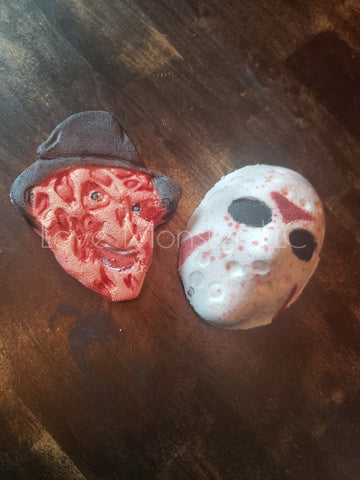 Freddy VS Jason bath bomb set