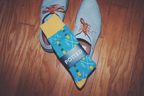 Pineapple Express Socks