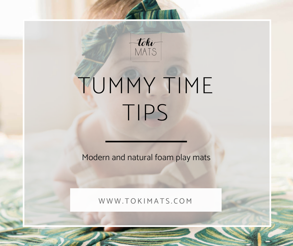5 Tips for Successful Tummy Time With Our Play Mats