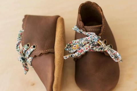 Sun and Lace Moccs