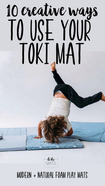 Modern and Foam Padded Play Mats // Toki Mats