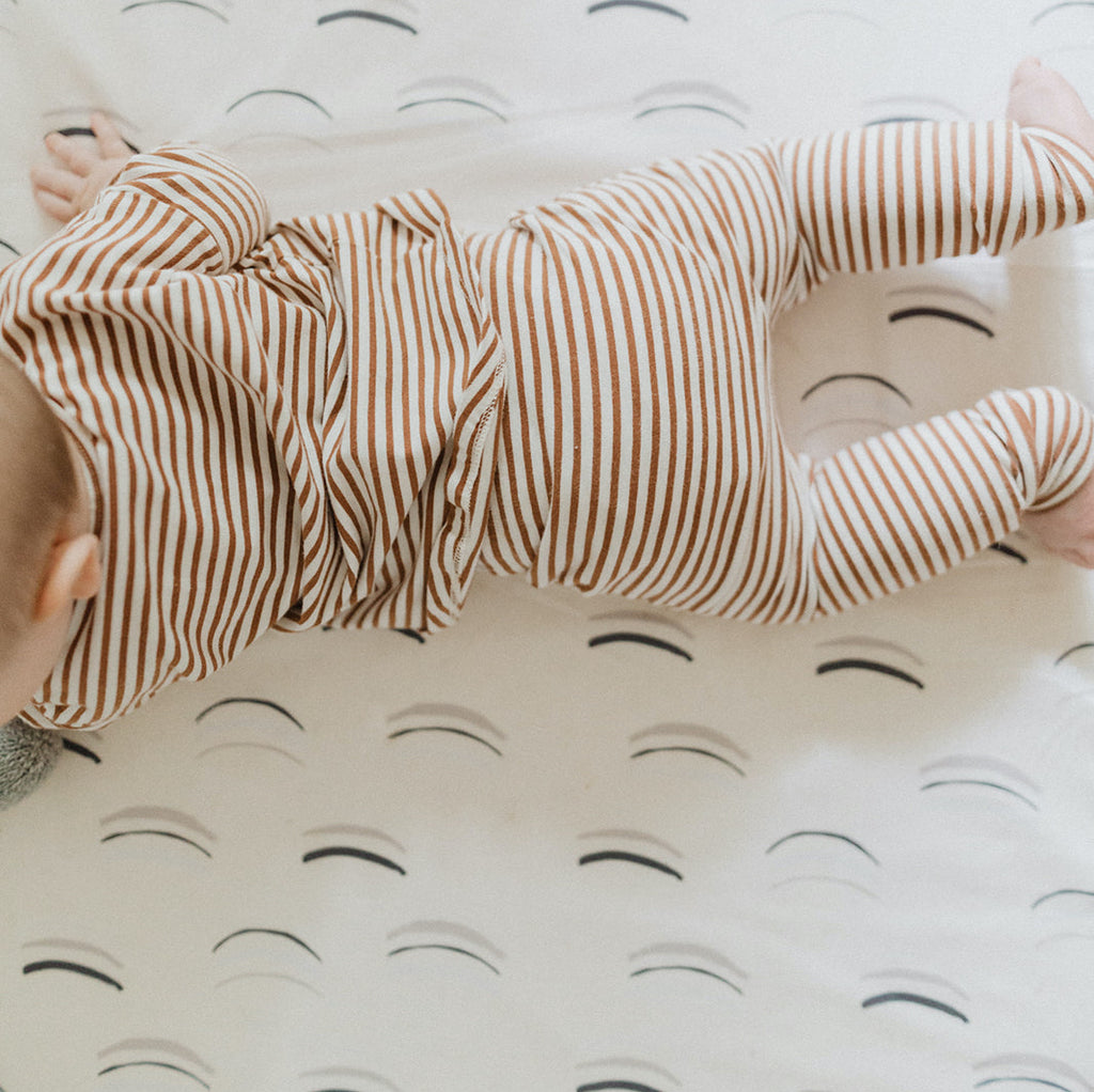Arches in White | Standard | Padded Play Mat - Toki Mats