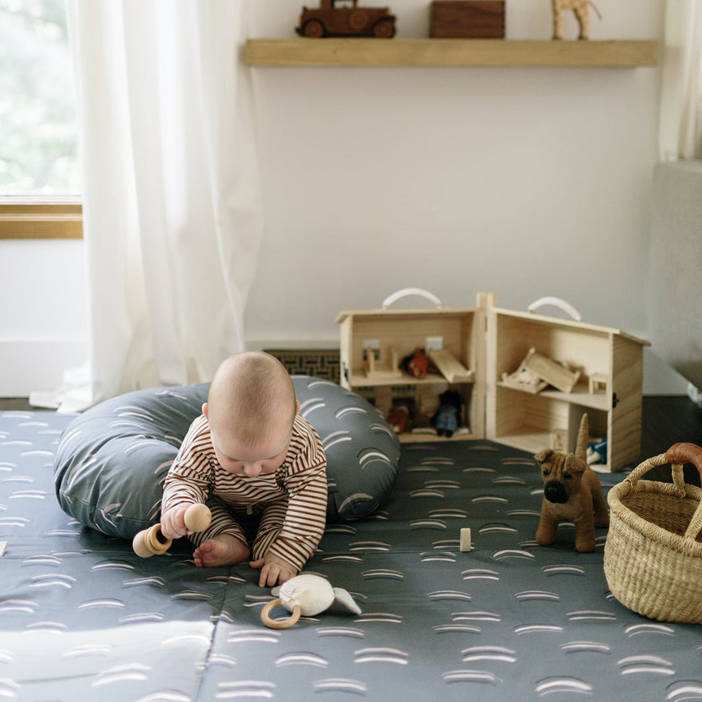 Arches in Forest | Mega | Padded Play Mat - Toki Mats