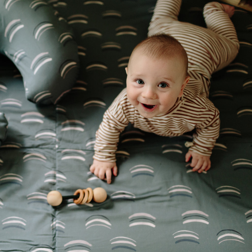 Arches in Forest | Standard | Padded Play Mat