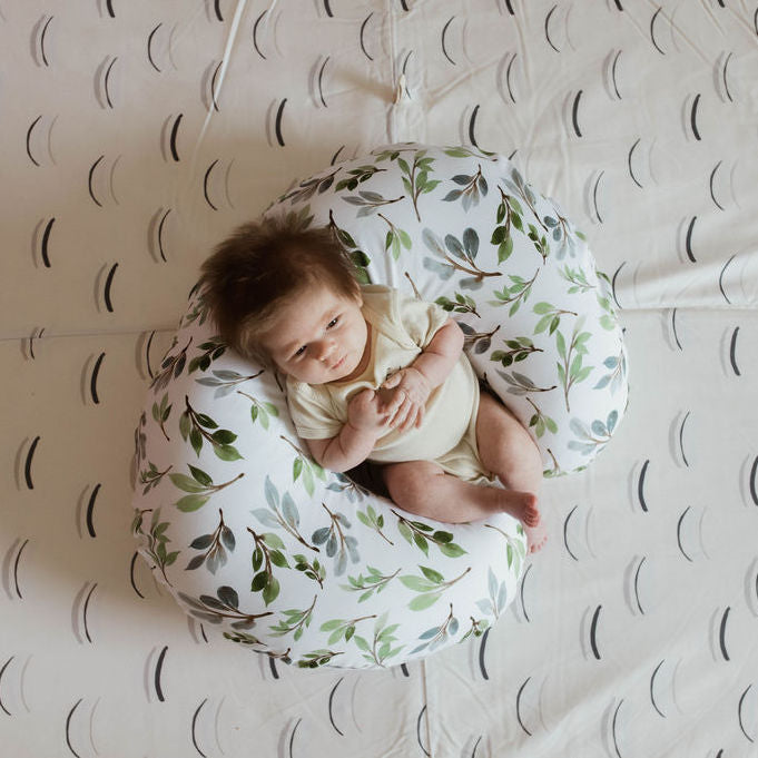 Olive Branch | Nursing Pillow Cover - Toki Mats