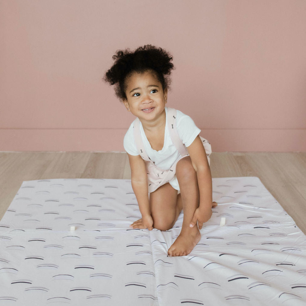 Arches in White | Standard Cover - Toki Mats