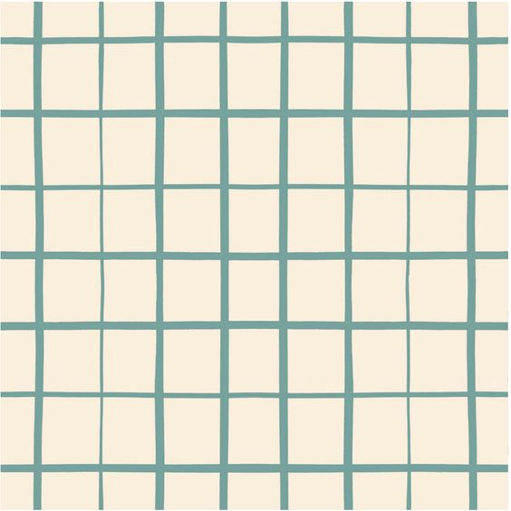 Grid in Teal | Standard | Padded Play Mat