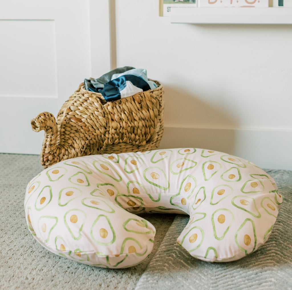Avocado | Nursing Pillow Cover - Toki Mats