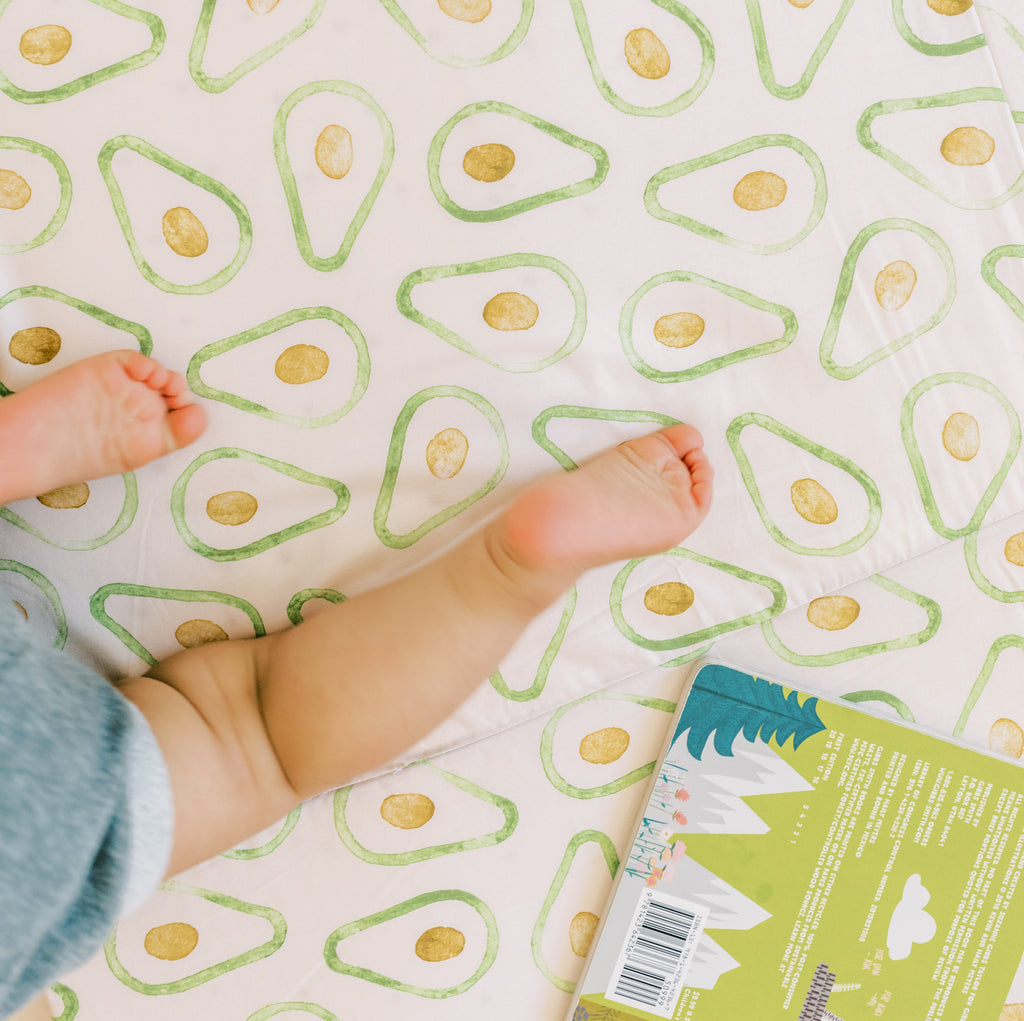 Avocado | Mega | Padded Play Mat