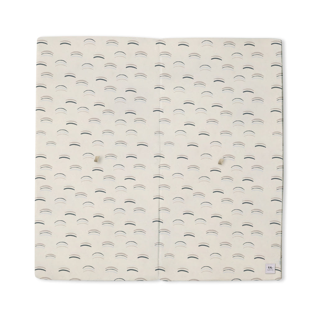 Arches in White | Mega | Padded Play Mat - Toki Mats