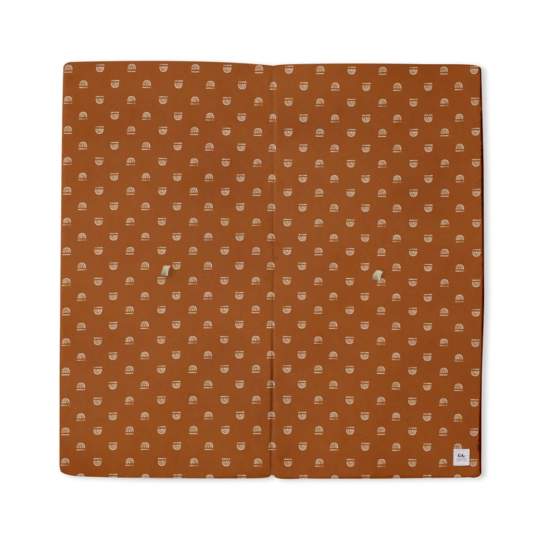 Rainbow Stamp in Rust | Mega | Padded Play Mat